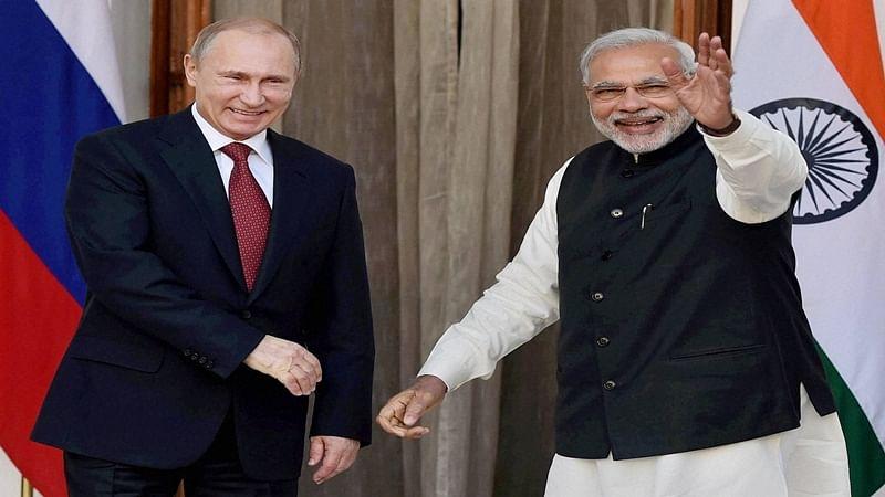 PM Modi begin bilateral talks with Putin on BRICS sidelines