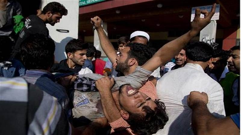 Pakistan uses brute force to muzzle Black Day protests in PoK