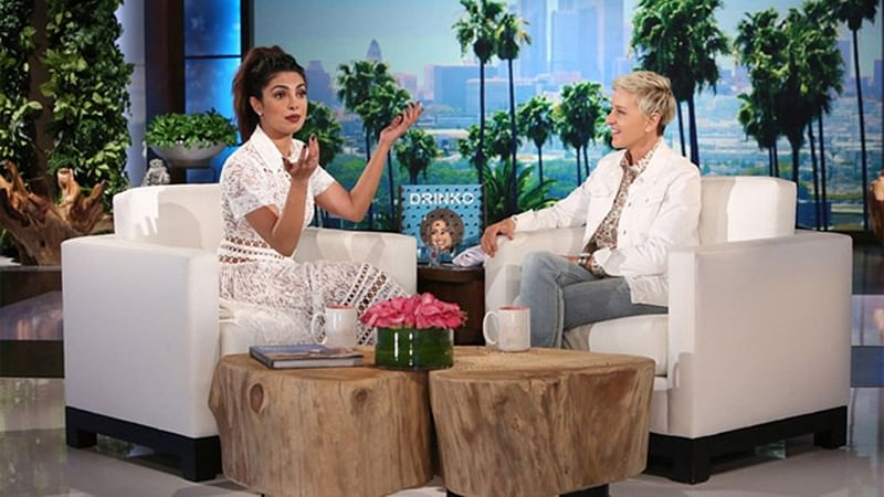 Priyanka Chopra makes her debut on Ellen Show with a tequila shot