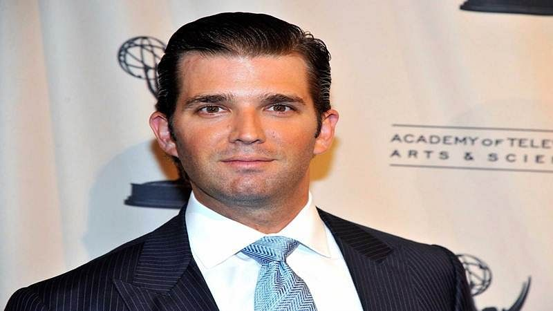 Running for president is a step down for my dad: Trump Junior