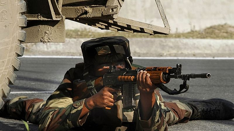 1 BSF jawan killed in terror attack on army, BSF camps in Baramulla