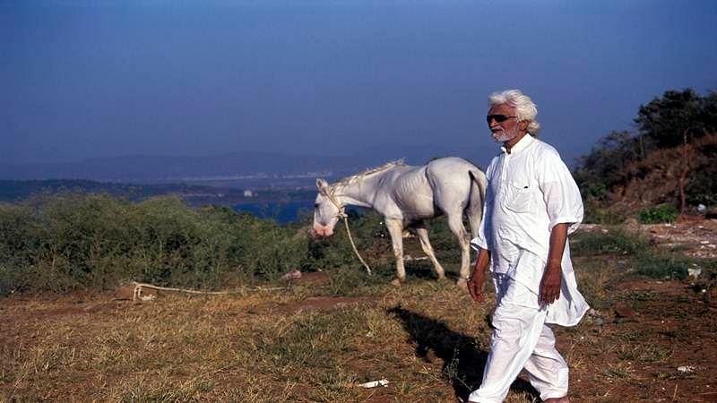 MF Husain's love affair with cinema
