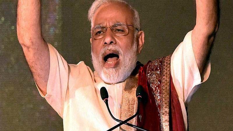 Modi dents the swords of opposition