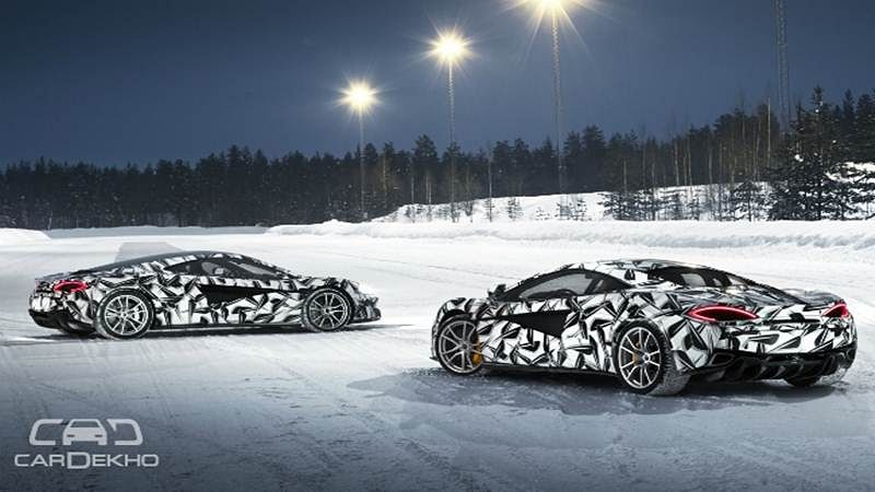 Experience McLaren 570S in the Arctic!