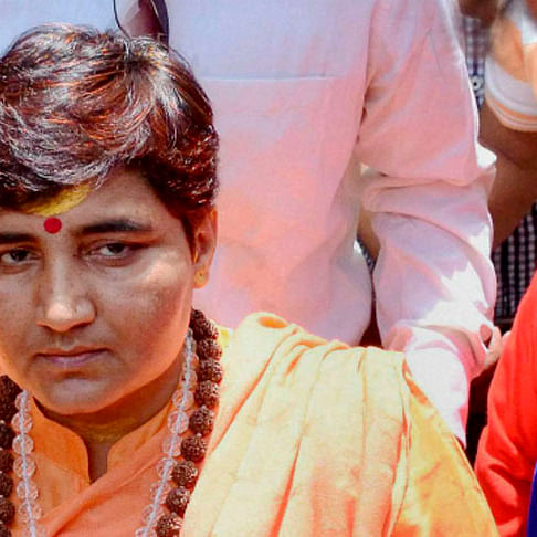 Now the indefensible, Pragya Thakur on House Defence Panel