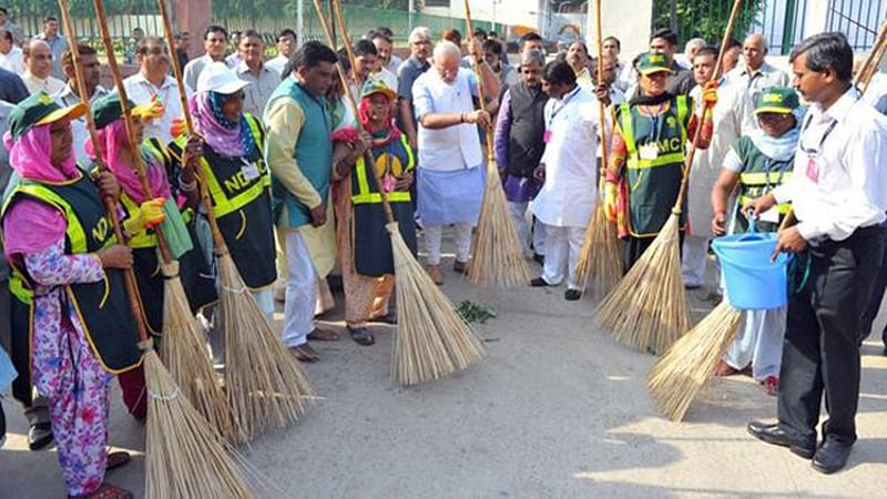 Country marks two years of Clean India campaign