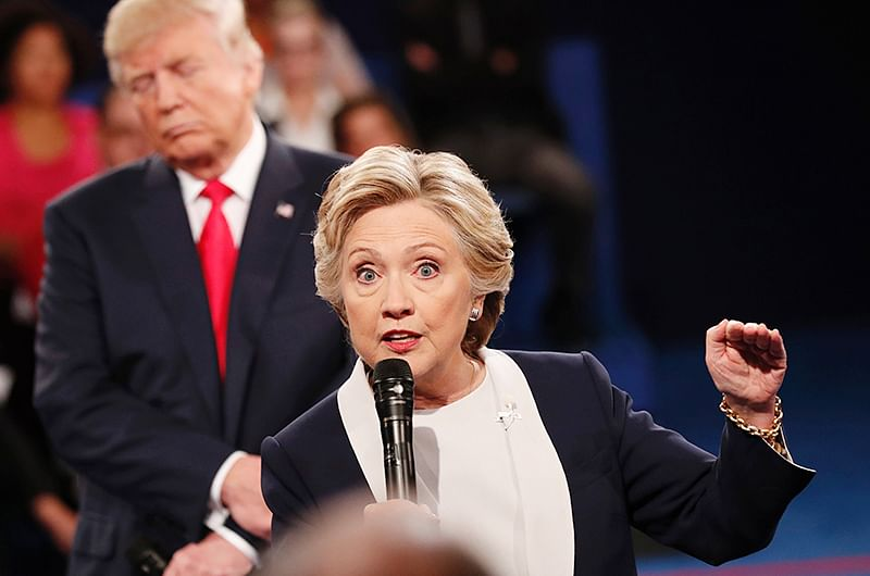 Hillary blames FBI chief for her shock defeat against Trump