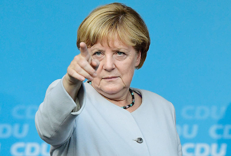 Angela Merkel sparks health concerns