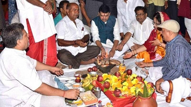 Tirupati Balaji puja in Mumbai for the first time