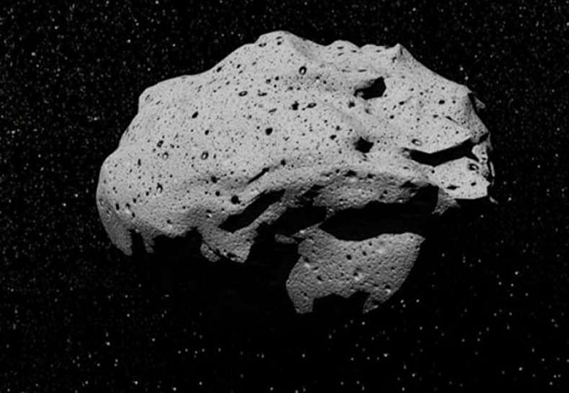 Water detected on metallic asteroid Psyche