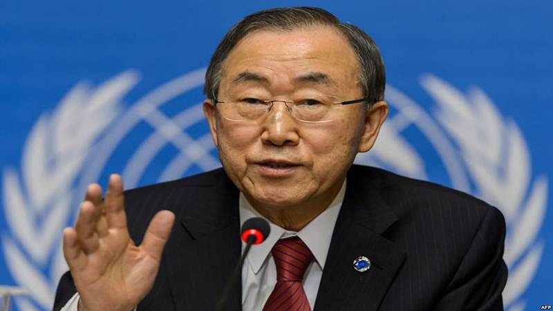Hope India, Pak will resolve water issue themselves: Ban Ki-moon