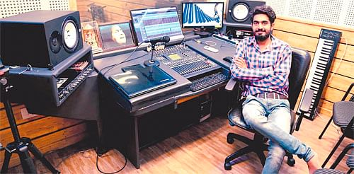 Indore: Himanshu lives his dream to make city new centre of Bollywood music