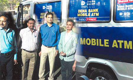 Indore: Dena Bank launches mobile ATM van
