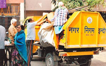 Indore: Door-to-door collection of garbage in 40 wards