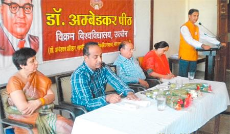 Dr Ambedkar's thoughts are still relevant: Prof Rajput