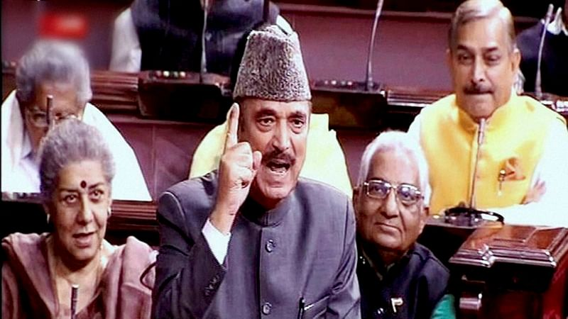 Leader of Opposition Ghulam Nabi Azad