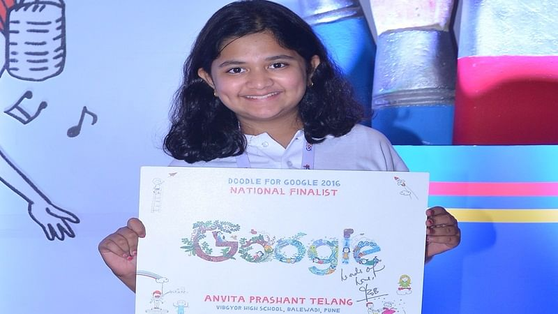 Children's Day: 11-year Pune girl wins 'Doodle 4 Google', gets set on homepage