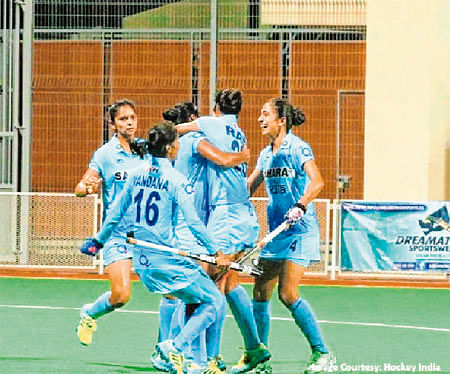 Hockey: India beat China 2-1 to win Women's Asian Champions Trophy