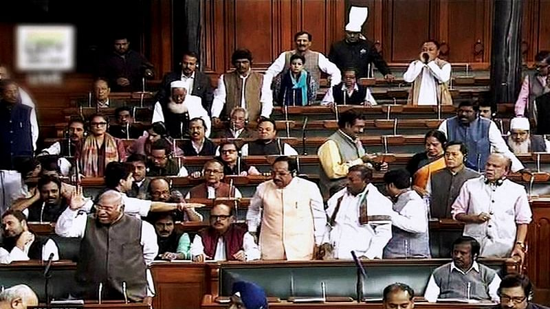 Lok Sabha adjourned for the day as ruckus continues