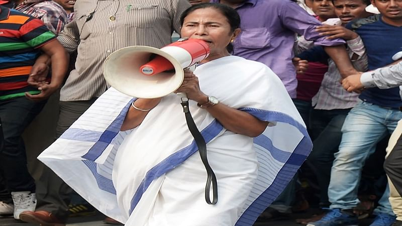 Indian Chief Minister of eastern state of West Bengal and Trinamool Congress (TMC) political party leader Mamata Banerjee