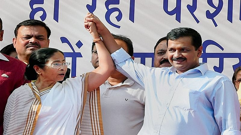 'AAP's win is victory of people and democracy': Mamata Banerjee slams BJP for 'vendetta politics'