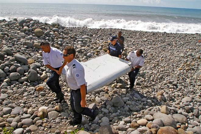MH370 plunged rapidly, wing flap not out for landing: Report