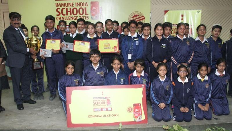 Dabur India Ltd. and Max Hospital concludesDabur Chyawanprash Immune India School Challenge 2015
