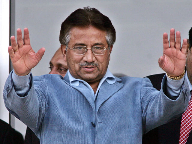 Musharraf ready to challenge Sharif and Zardari politically