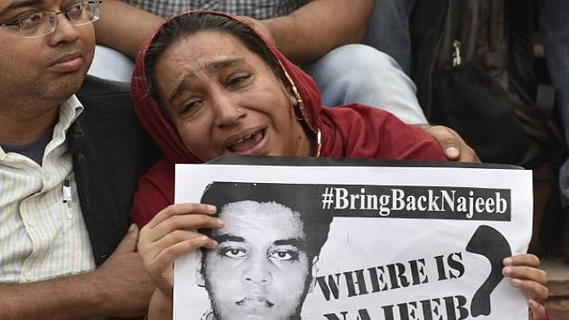 JNU missing student case transferred to Crime Branch