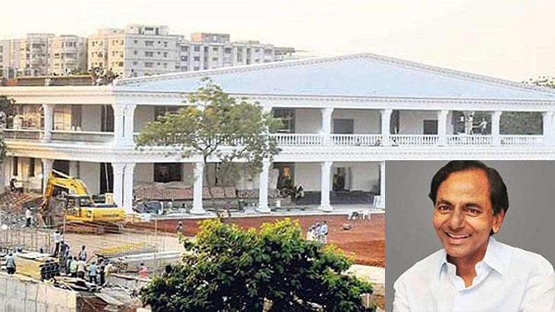 While nation suffers, K. Chandrasekhar Rao moves into 40 cr bungalow