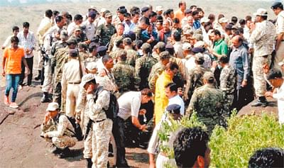 Simi Encounter: CID team records statements of villagers, eye-witnesses