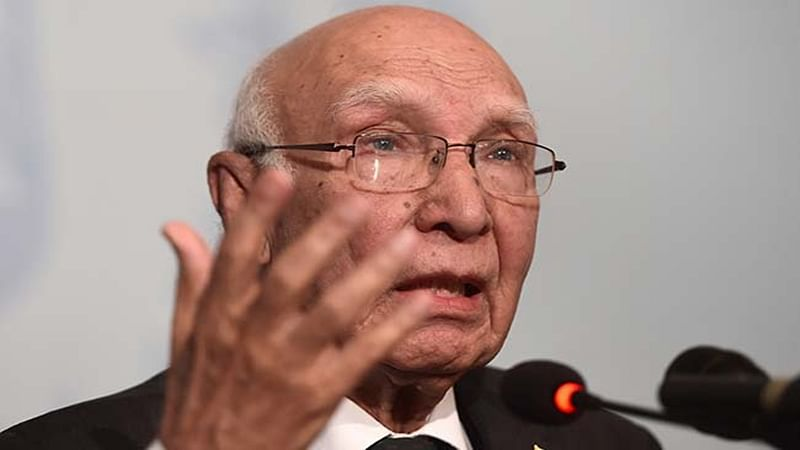 'Insufficient evidence' on Indian spy Kulbhushan Jadhav: Aziz