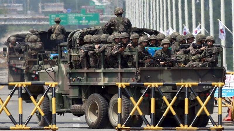 South Korea on high alert against North's threats around US poll
