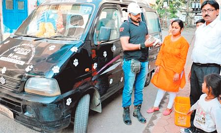 Indore: VABCD celebrates Diwali by serving injured animals