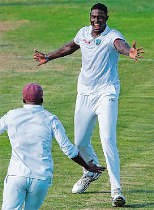 West Indies end Test win drought