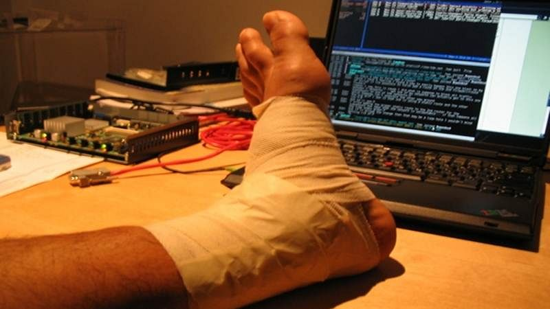 Physiotherapy not beneficial for ankle sprains