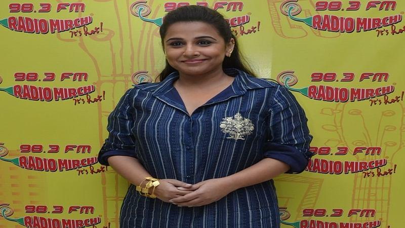 No touch-up for Vidya Balan