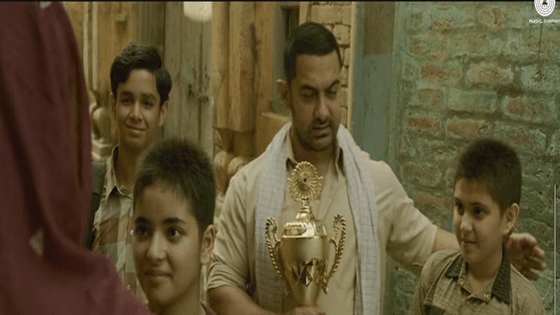 Geeta, Babita Phogat pins down men with ease in Dangal's new song 'Dhaakad'