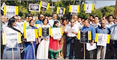 Indore: City doctors join nation-wide stir