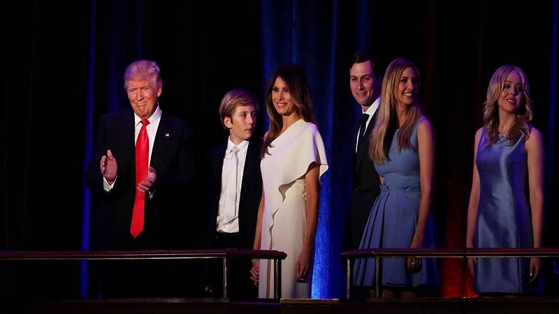Melania 1st foreign-born US First Lady since 1820s