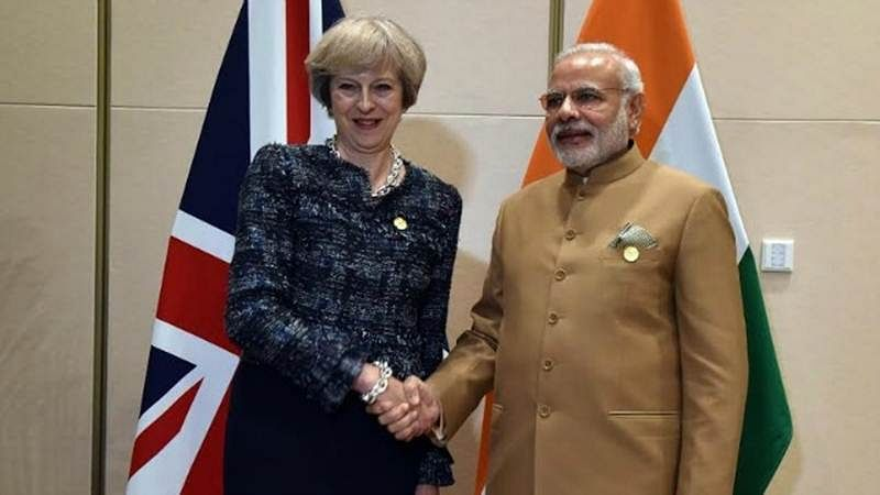 Theresa May for strengthening trade ties between India and UK