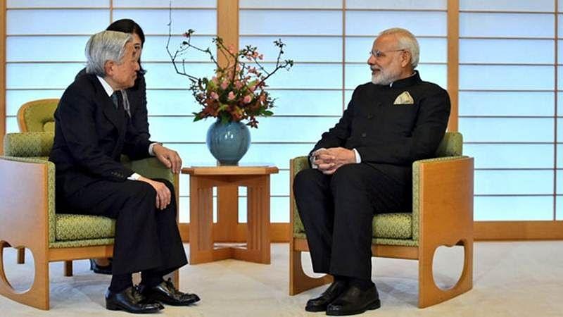 Tokyo: PM Modi, Japanese Emperor Akihito discuss Asia's future