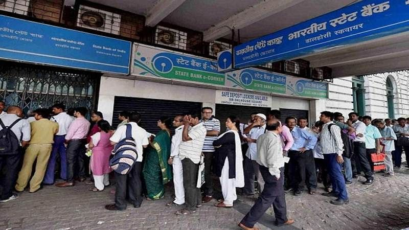 Demonetisation Day 7: No respite from long queues at banks, ATMs