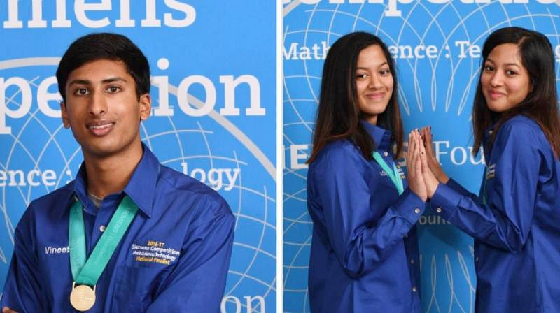 Desi teens bag $100K in Siemens science contest in US
