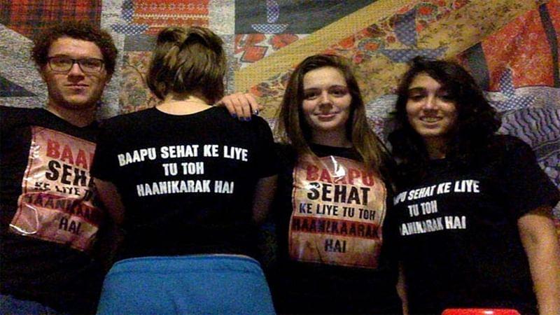 Aamir Khan's daughter sports 'Dangal' t-shirt