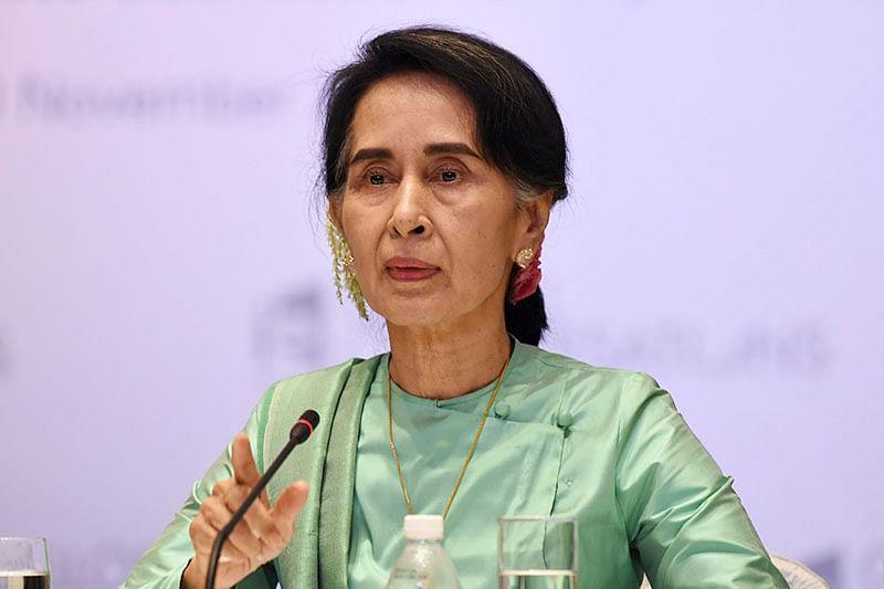 Suu Kyi vows 'reconciliation' amid Rohingya crisis