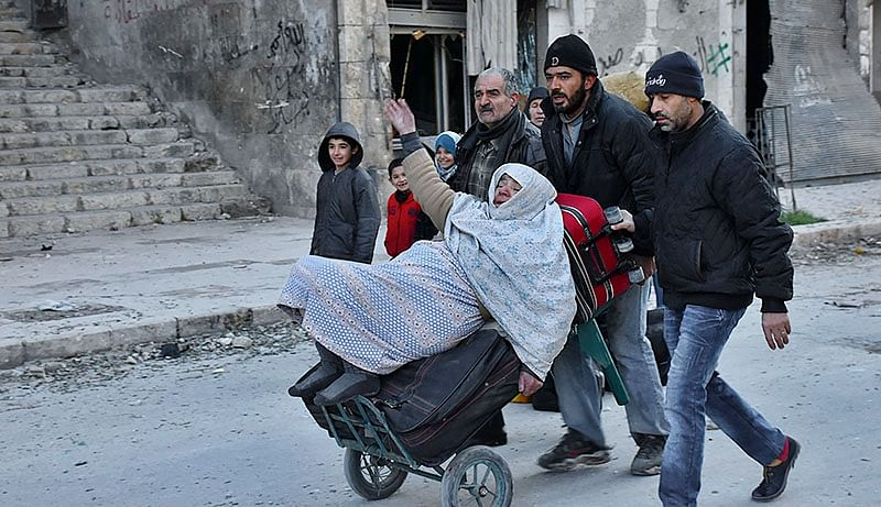 Thousands flee as Turkey intensifies assault against Kurdish forces