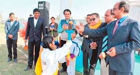 Ujjain: Sportive zeal of JPS-ians mark opening of Annual Sports Meet