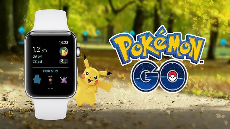 Pokemon Go for Apple Watch is finally here
