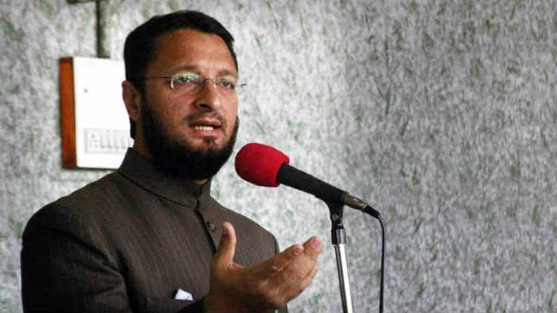 BJP moves Election Commission against Owaisi's speech in Mumbai